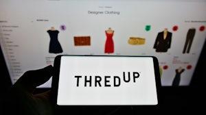 Thredup website. Shutterstock.