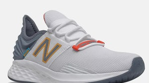 A genuine New Balance sneaker. New Balance
