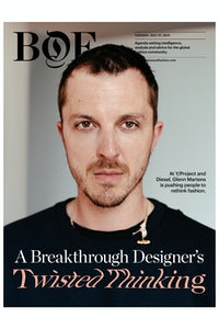 Y/Project's Glenn Martens is hoping to re-invigorate Diesel and spark change the fashion system. Damon De Backer.