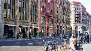 Berlin high street. Shutterstock.