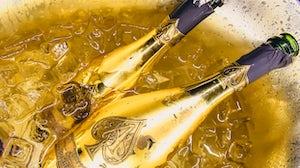 Champagne Brand Armand de Brignac. Shutterstock.