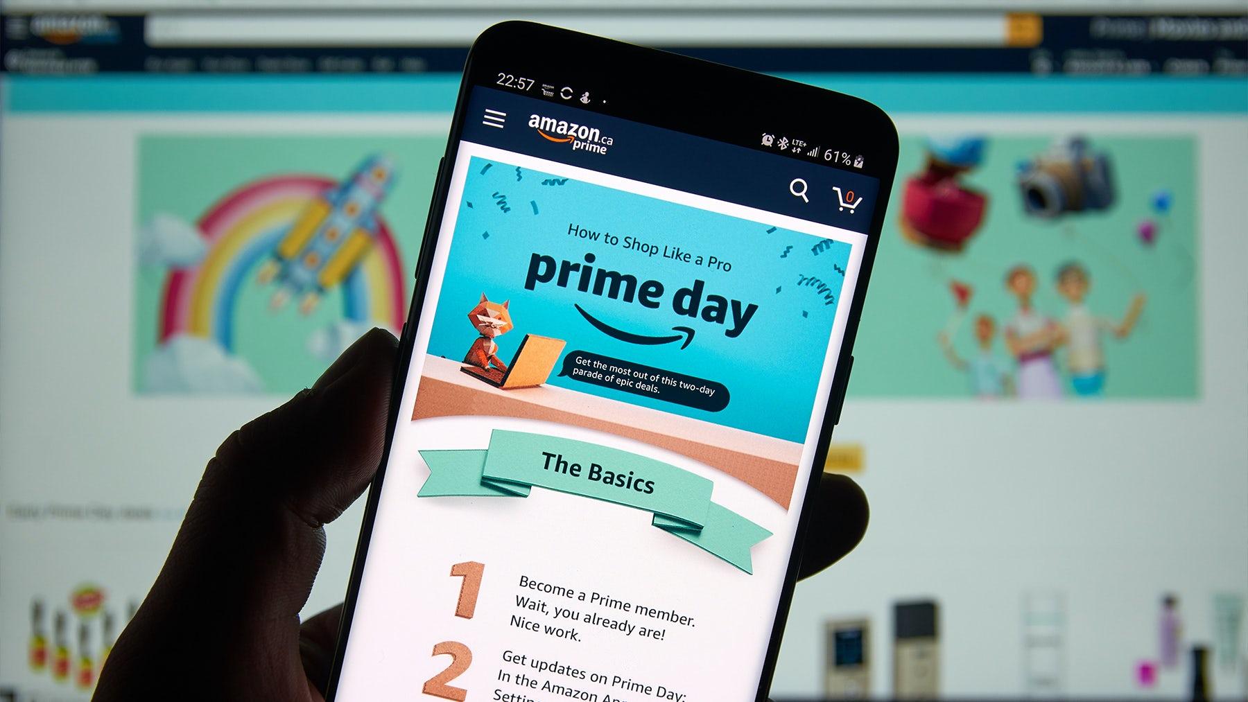 Amazon Prime Day. Shutterstock.