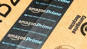 Amazon Prime package. Shutterstock.