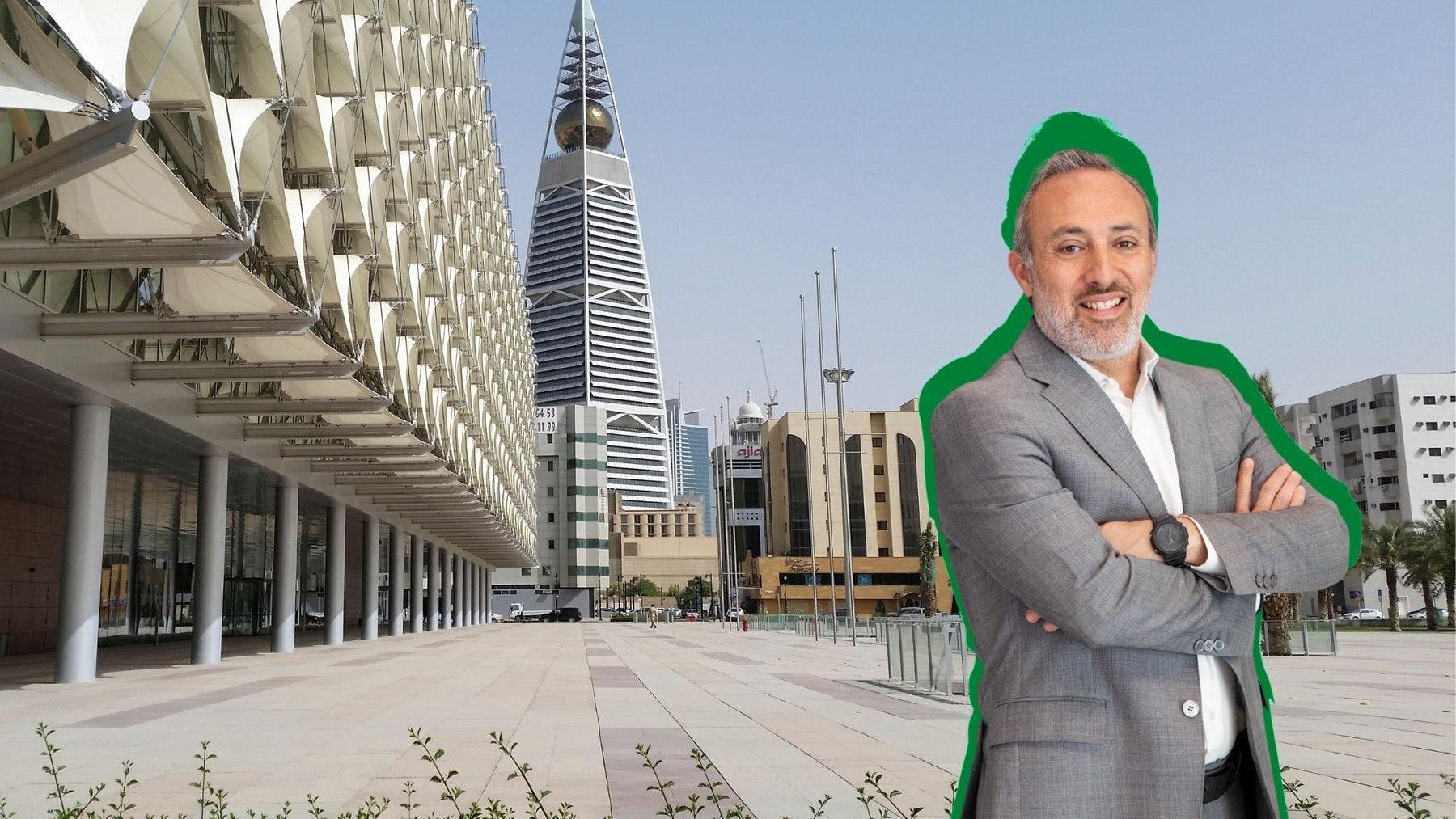 Marwan Moukarzel, CEO at Alhokair Fashion Retail, based in Riyadh, Saudi Arabia. BoF Collage.
