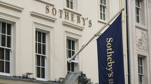 Sotheby's auction house, London. Shutterstock.