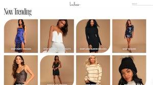 Digital fast fashion brand Lulu's uses a data-driven merchandising model. Lulu's