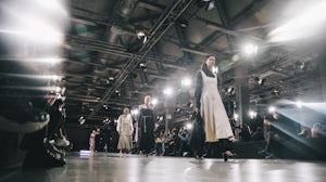 Andrey Berezkin's catwalk show at MBFW Russia. MBFW Russia
