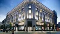 A rendering of Flannels new 120,000 square foot store in Liverpool   Source: Courtesy