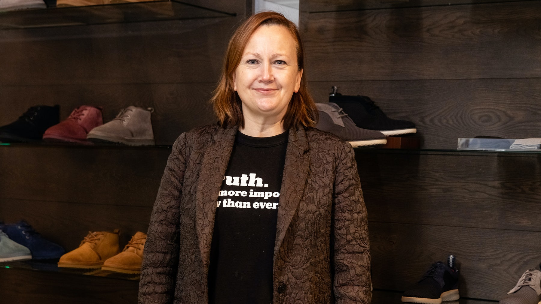 Everlane names Andrea O'Donnell chief executive. Getty Images.