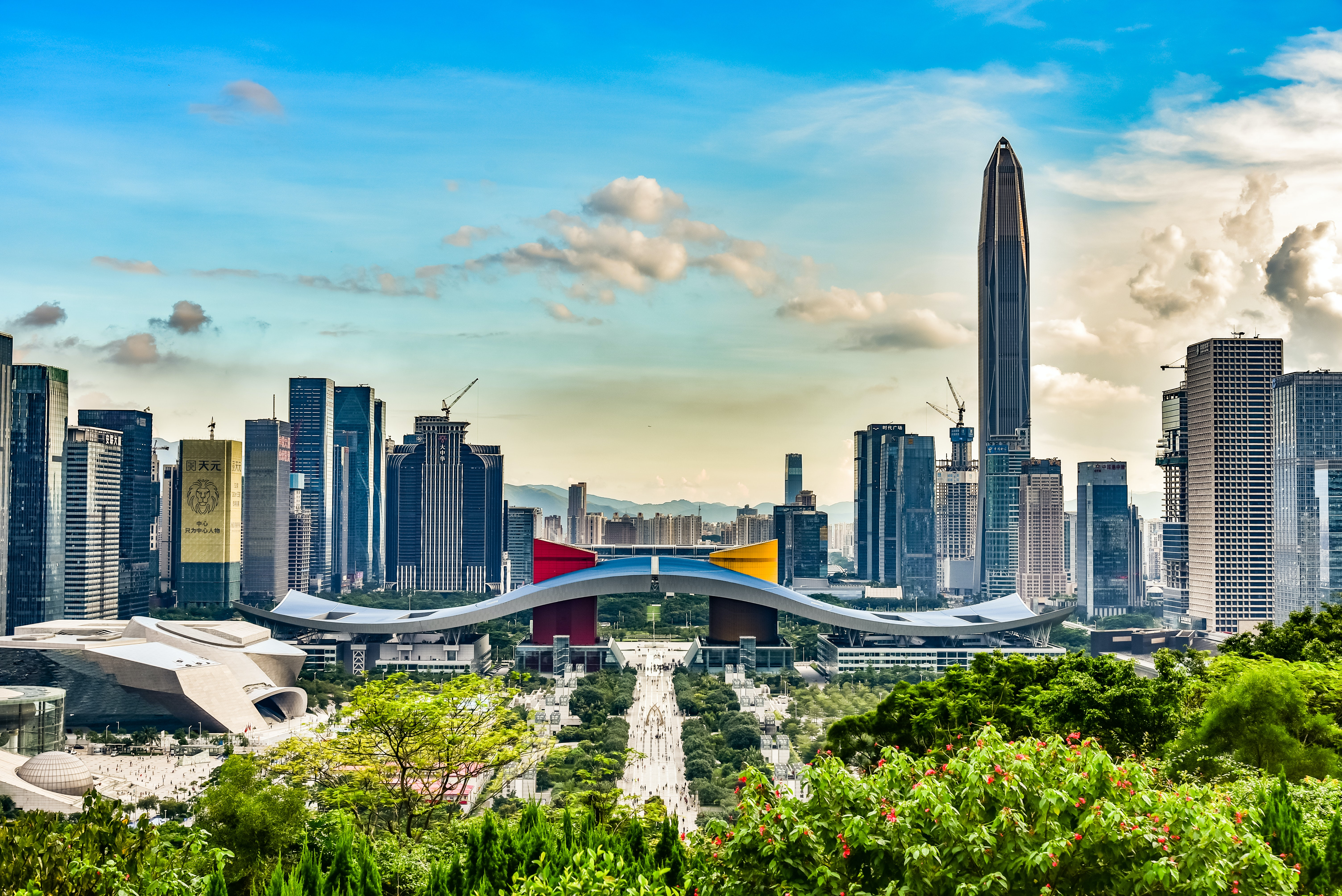 Cityscape of Shenzhen, China. Shutterstock.