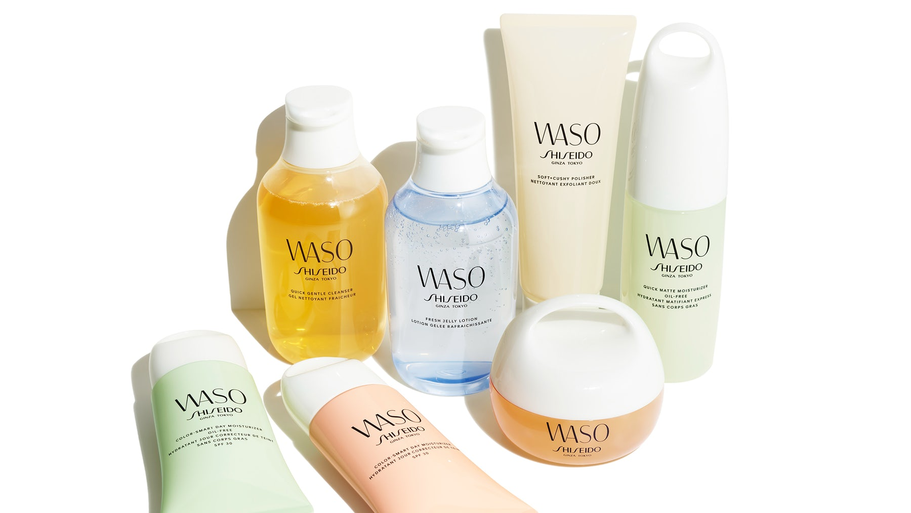 Waso products. Shiseido.