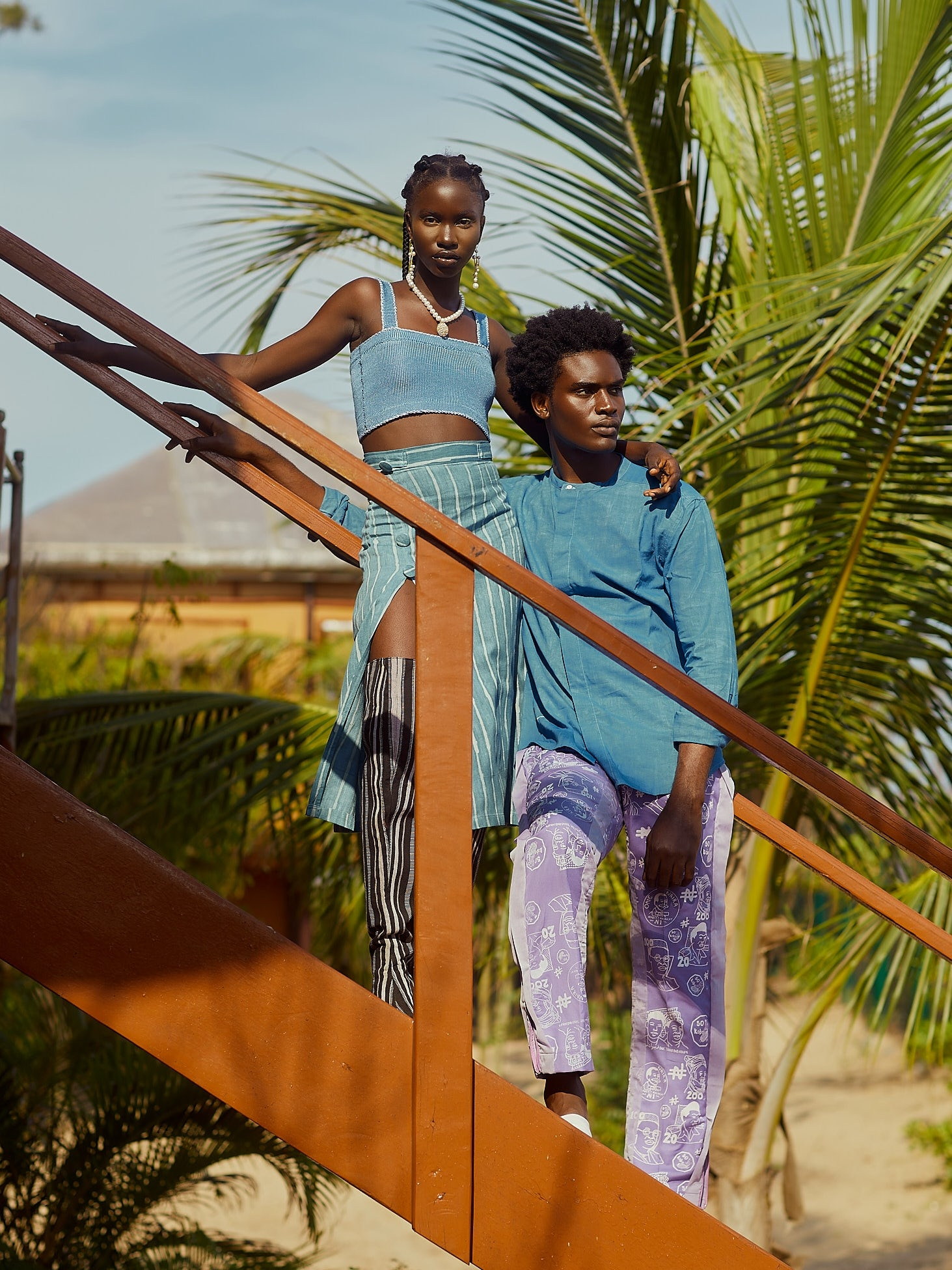 Woven Threads campaign for Lagos Fashion Week 2021. Lagos Fashion Week.