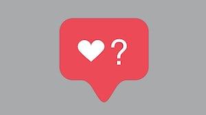 Instagram宣布测试用户可以选择看到喜欢的。Shutterstock。