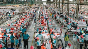 Workers at PT Pan Brothers Tbk garment factory in Solo, Central Java, Indonesia. Muhammad Fadli/Bloomberg