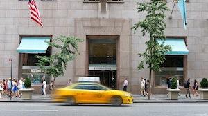 Tiffany & Co. Fifth Avenue Store. Shutterstock.