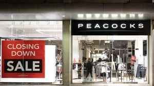 British retailers Peacocks and Jaeger enter administration. Photo: Matthew Horwood/Getty Images.