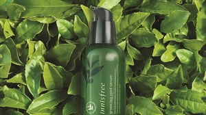 Innisfree's green tea seed serum. Innisfree.