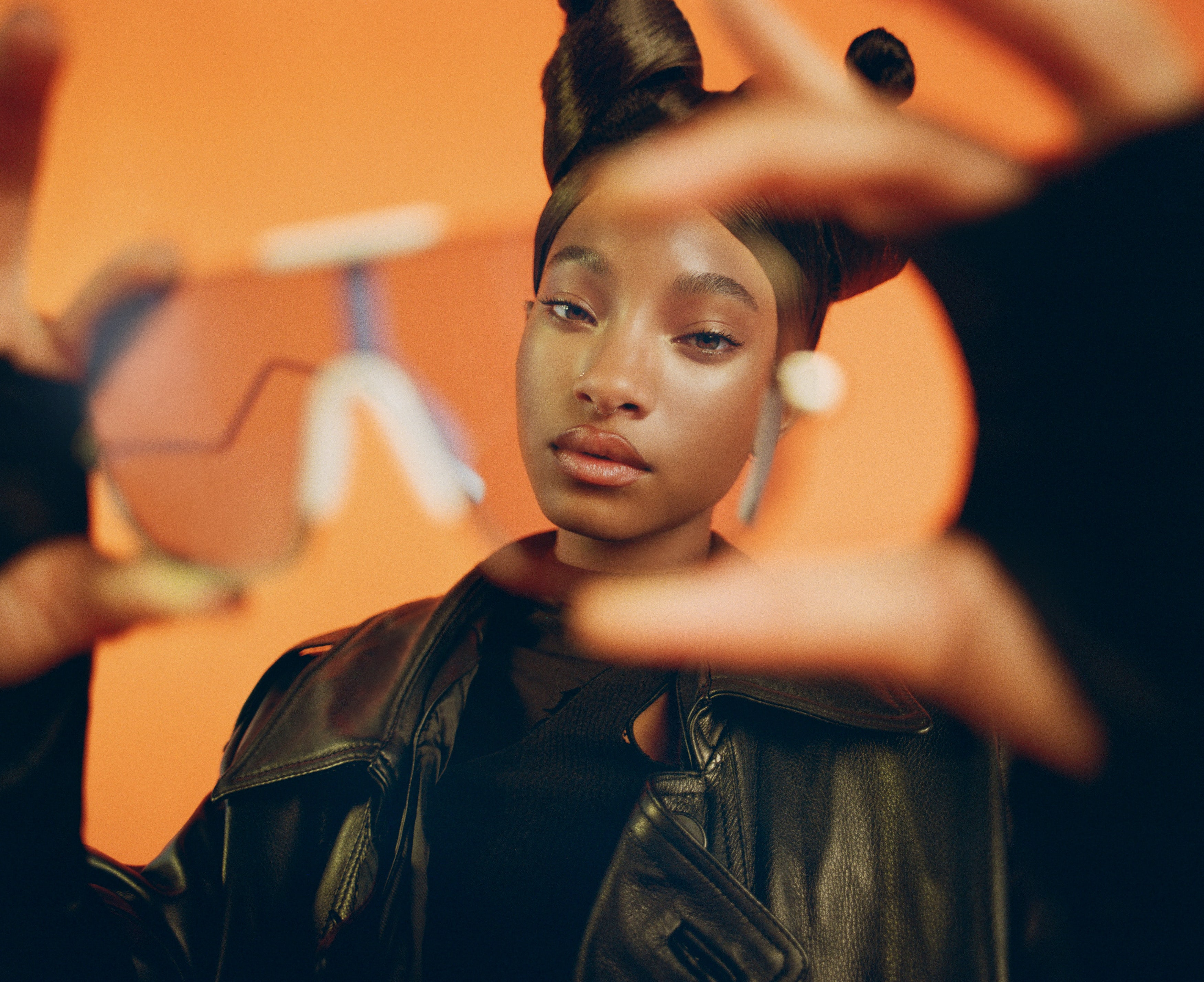 Willow Smith is the face of Won Lee\'s newest venture, an eyewear line. Courtesy.
