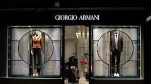 Giorgio Armani Store. Shutterstock.