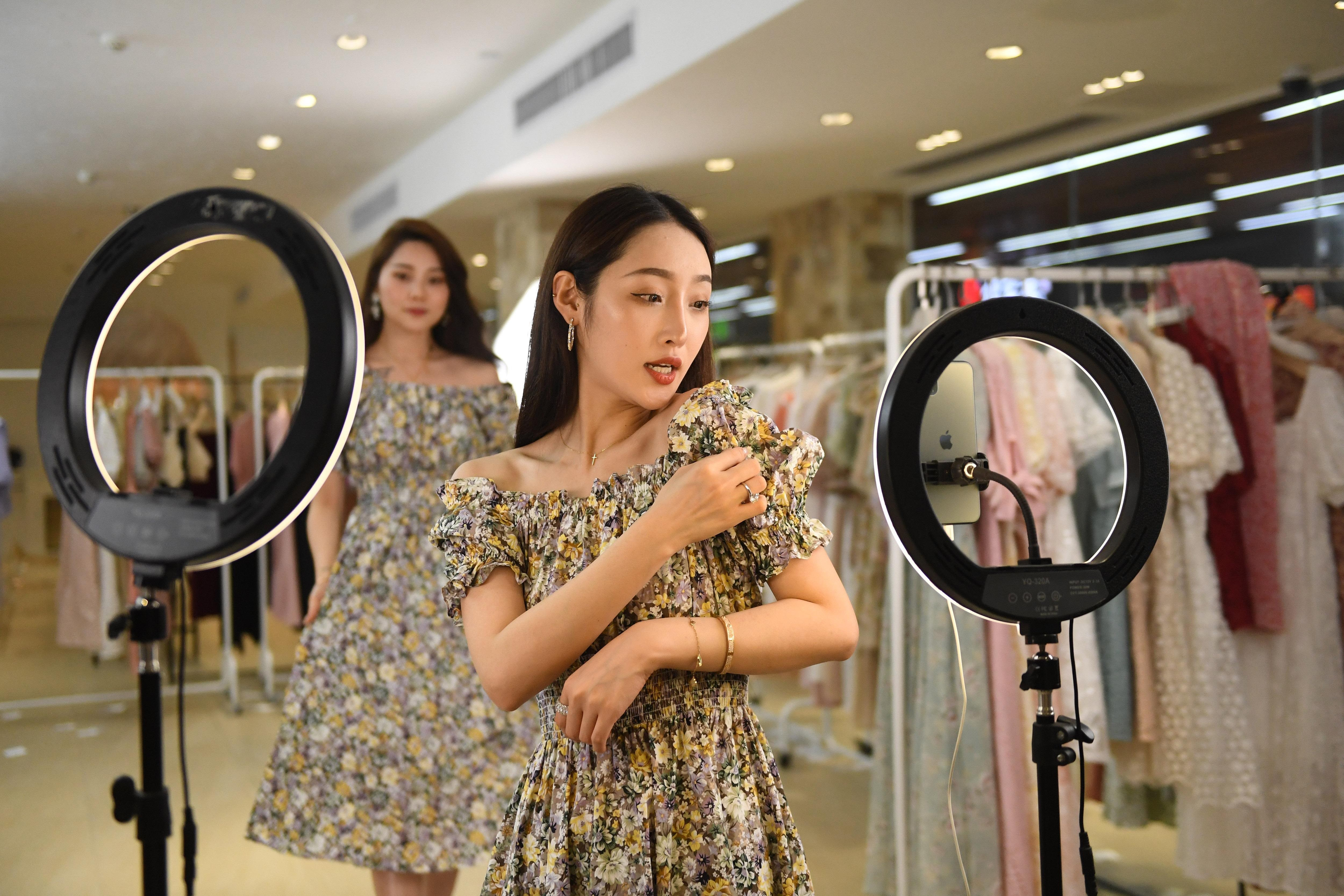 Digitally adept businesses in China — especially those in livestreaming — have fared well during Covid-19. Others, not so much. Getty Images.
