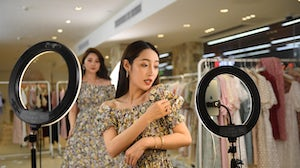 Livestream e-commerce is already a huge revenue driver in China. Getty Images