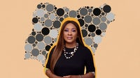 Alali Hart is the founder and CEO of beauty retailer Montaigne Place headquartered in Lagos, Nigeria. BoF Collage.