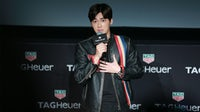 Actor Li Yifeng attending a press conference for Swiss watch Tag Heuer in 2015 in Shanghai, China. Getty Images.