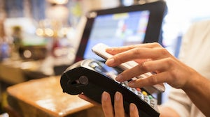 In store mobile payment. Shutterstock.