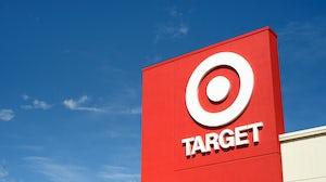 Target store sign. Shutterstock.