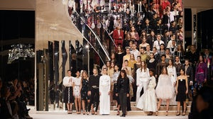 The finale of Chanel's Métiers d'Art in December, 2019. Courtesy