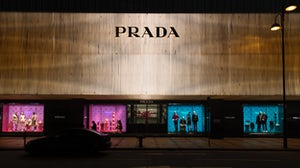 The Prada store in Hong Kong. Getty Images.