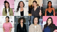Them's editor-in-chief Whembley Sewell, former Marie Claire editor Aya Kanai, former Vogue editor Sally Singer, former Teen Vogue and Allure fashion director Rajni Jacques, former Allure editor-in-chief Michelle Lee, former Elle Canada editor Vanessa Craft, former Lucky editor-in-chief Eva Chen, former Self editor Carolyn Kylstra. Getty Images.