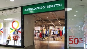 Benetton Group has suspended new orders from Myanmar suppliers. Shutterstock.