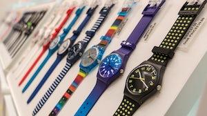 Swatch watches. Shutterstock.