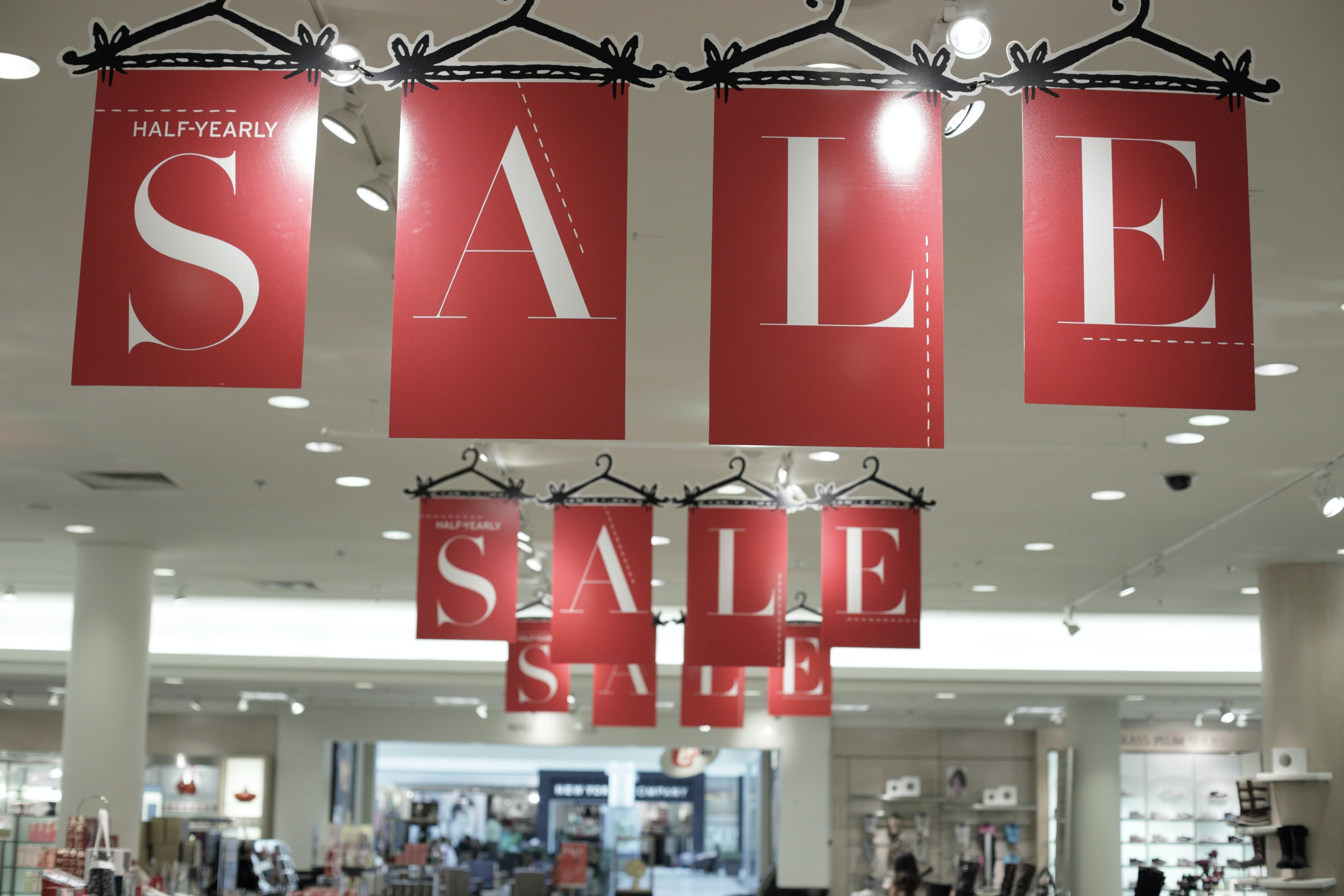 Holding the right kind of sales can also boost profits and get shoppers excited. Shutterstock