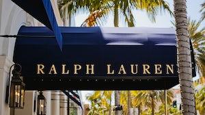 Ralph Lauren logo on Rodeo Drive, Beverly Hills. Shutterstock.