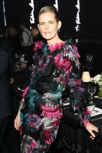 Stella Tennant attends The Fashion Awards 2019 at Royal Albert Hall in London, England. Getty Images.