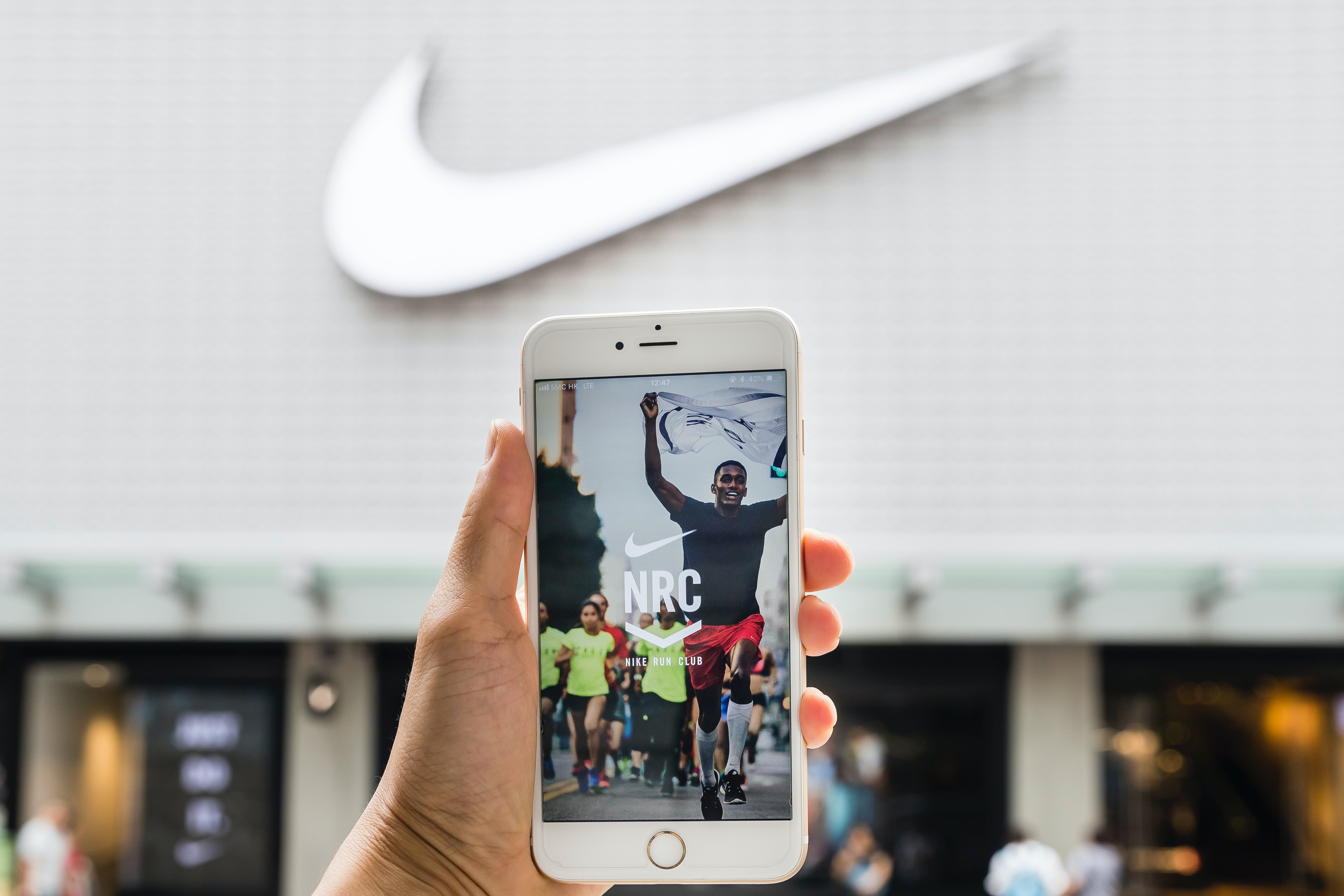 Nike\'s Run Club mobile app. Getty Images.