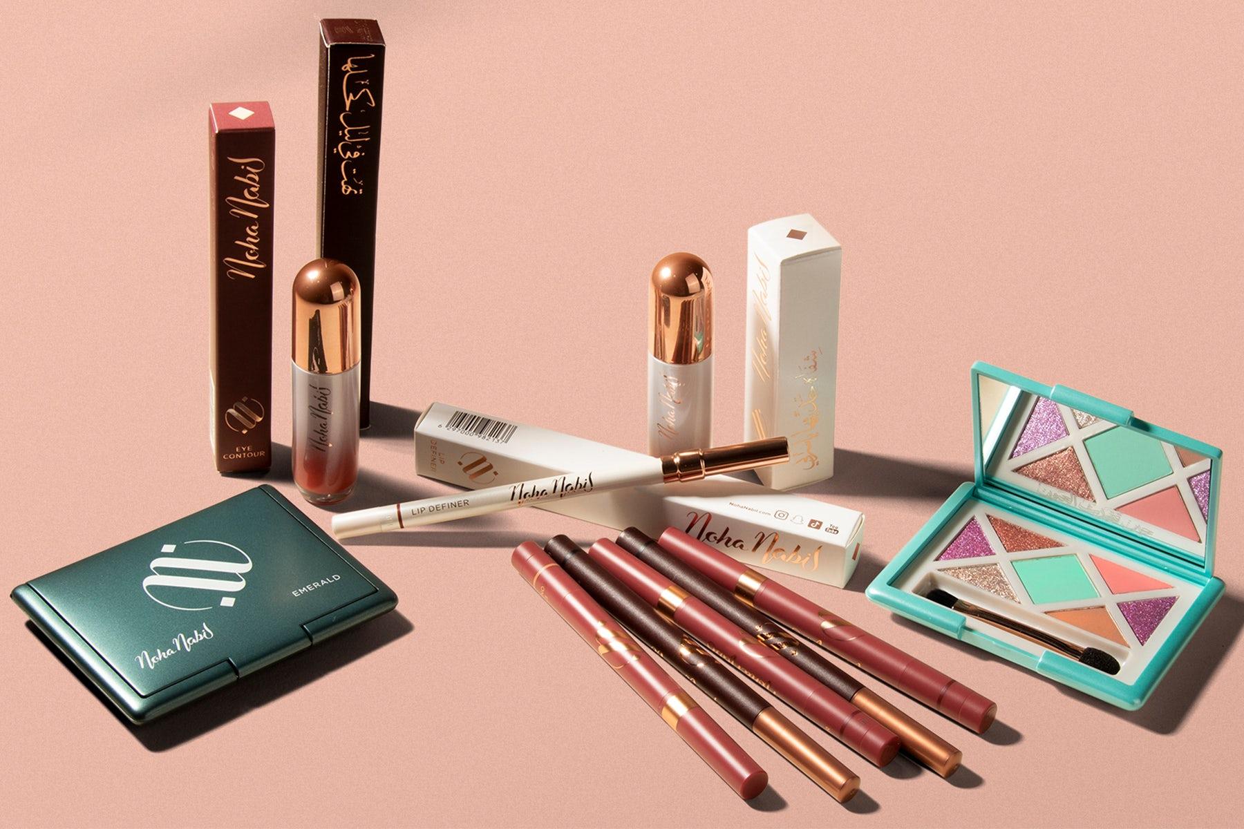 Noha Nabil makeup collection. Noha Nabil.