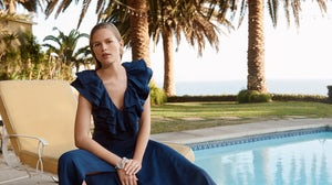 A dress made from Renewcell's Circulose material in the H&M Conscious Exclusive collection for Spring/Summer 2020. H&M.