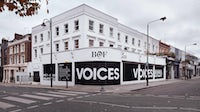 VOICES 2020 will be delivered via a live global broadcast from a pop-up studio in London. BoF.