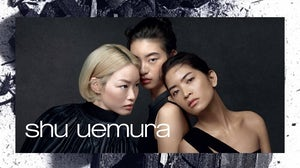 Shu Uemura campaign image. L'Oréal Group