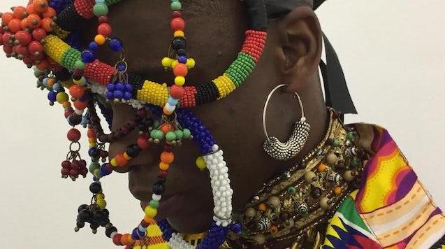 Meninos Rei 在 SPFW 的视频演示中的图像。 圣保罗时装周