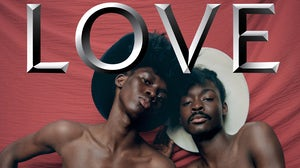 Love, March — July 2020 issue. Cover shot by Campbell Addy.