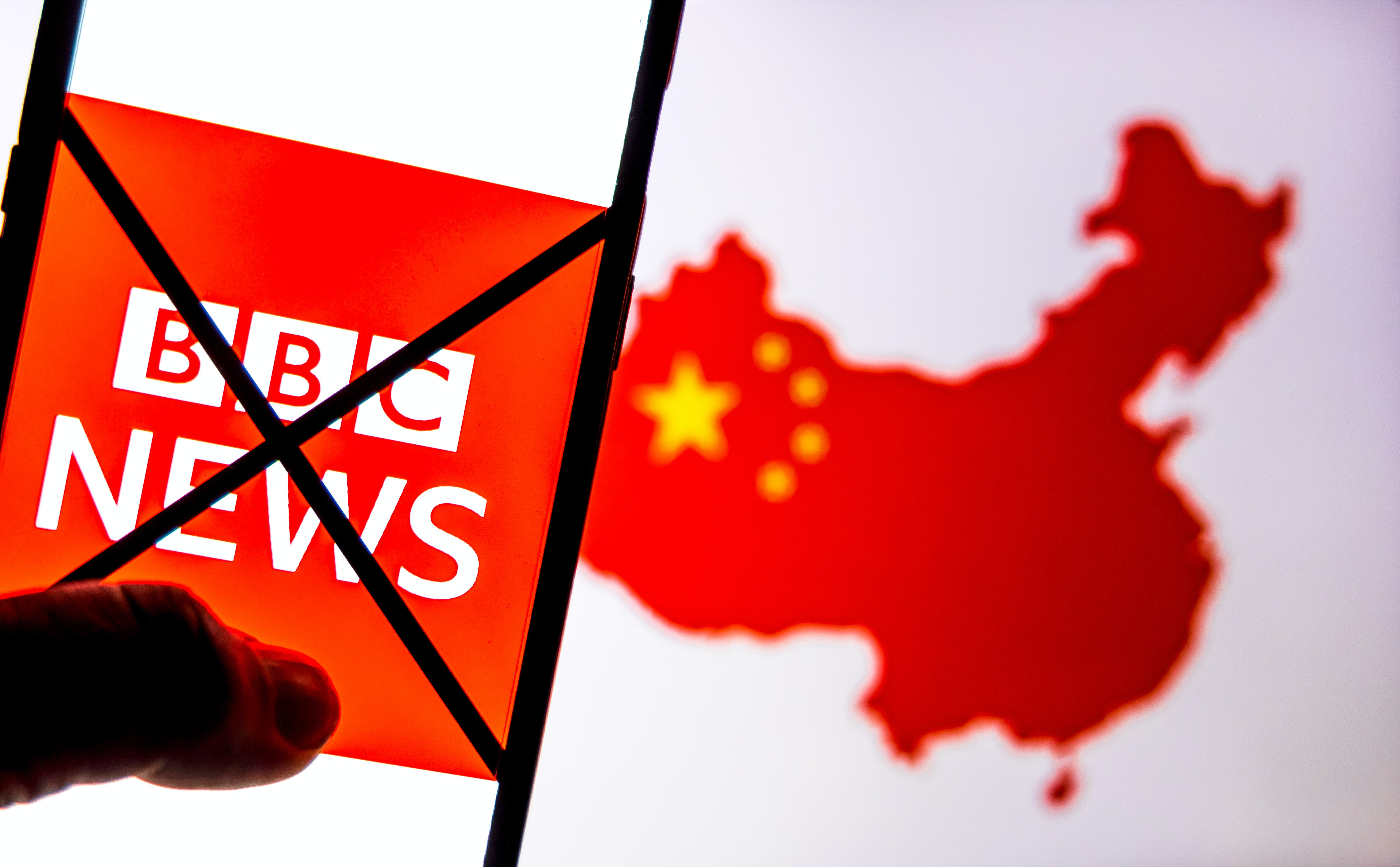 BBC banned from China. Shutterstock.