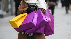 Retail stores reopen in London from April 12. Getty Images.