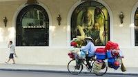Outside Burberry's store on Hanoi's Trang Tien plaza. Shutterstock.