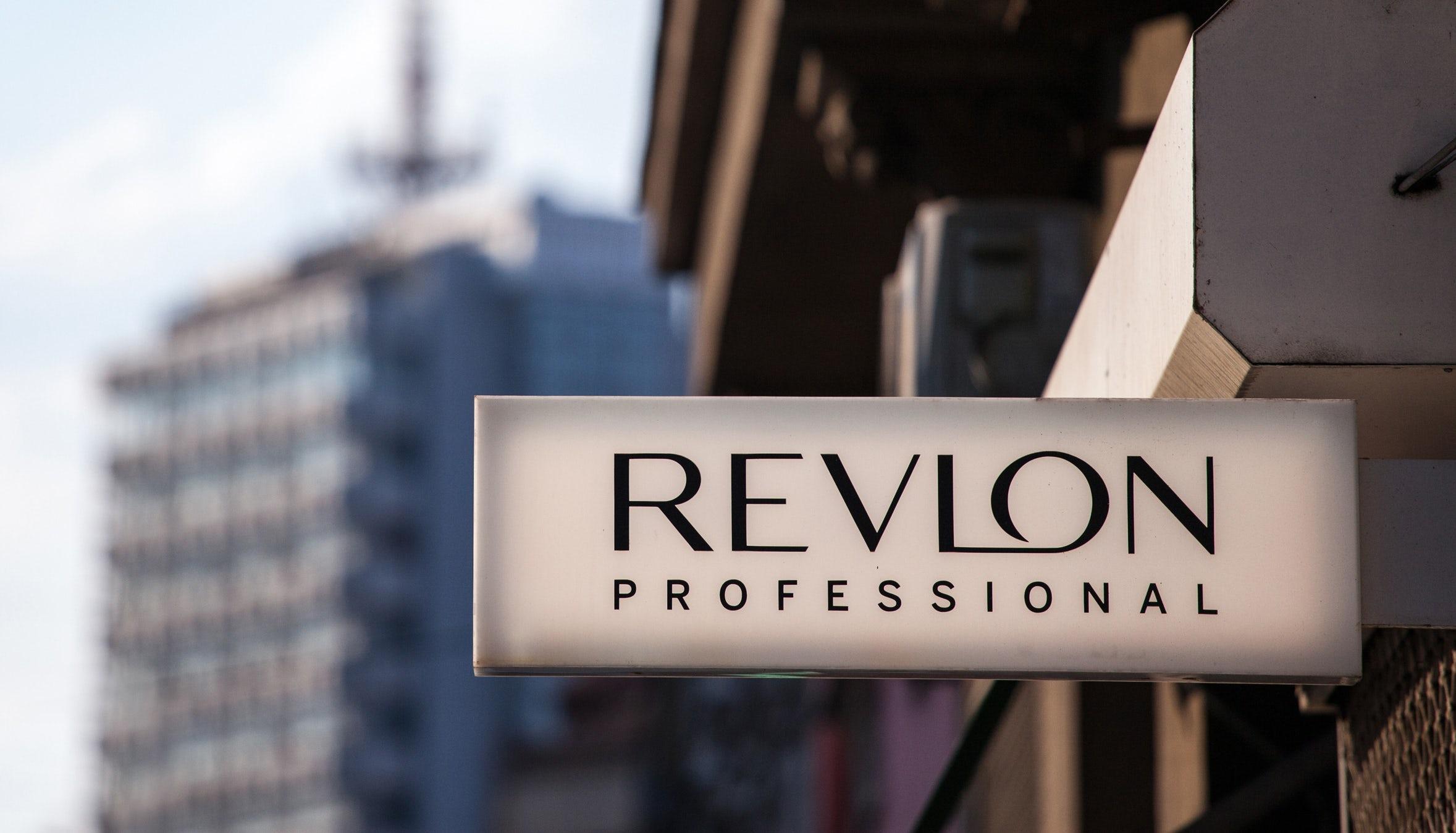 Revlon sign. Shutterstock.