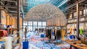 Printemps' new secondhand fashion space.  Romain Ricard.