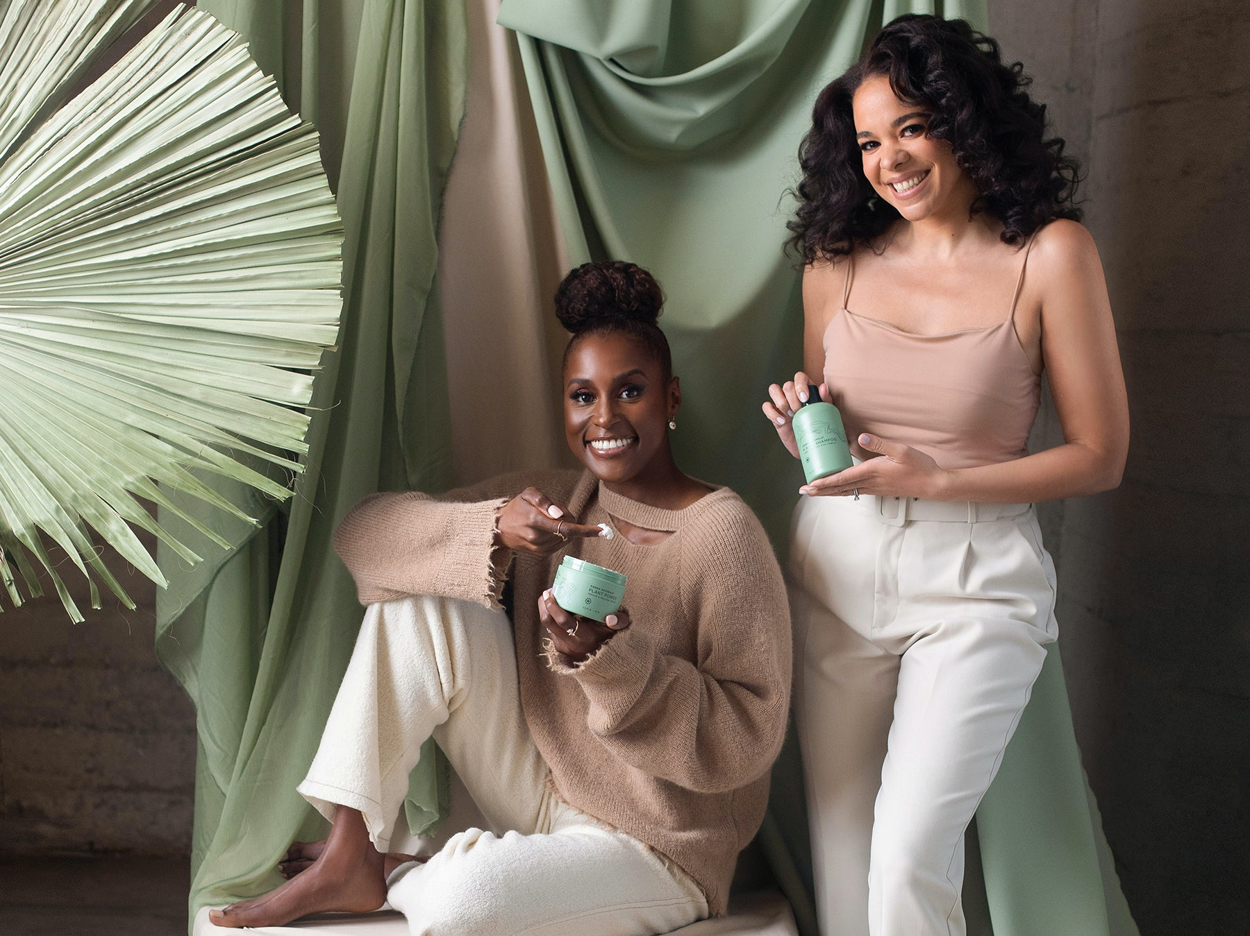 Sienna Natura\'s co-owners Issa Rae and Hannah Diop | Source: Courtesy